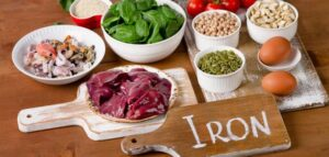 Treating anemia with food