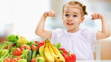 Nutrition advices according to the age of your child
