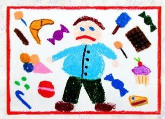 Methods of treating obesity in children