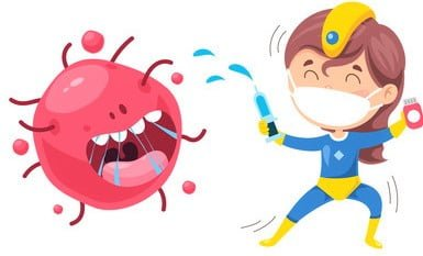 Corona virus symptoms in children